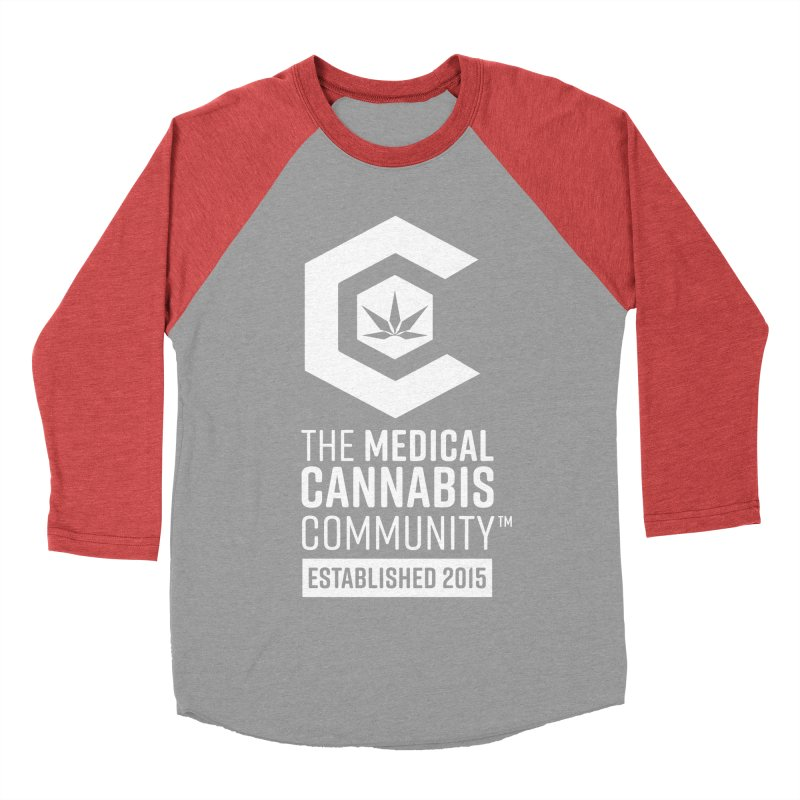 The Medical Cannabis Community Women's Baseball Triblend Longsleeve T-Shirt by The Medical Cannabis Community