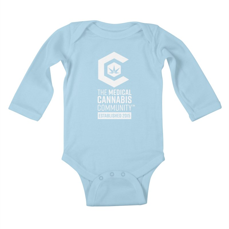 The Medical Cannabis Community Kids Baby Longsleeve Bodysuit by The Medical Cannabis Community