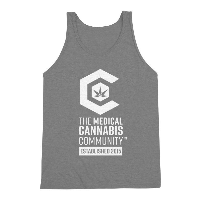 The Medical Cannabis Community Men's Triblend Tank by The Medical Cannabis Community