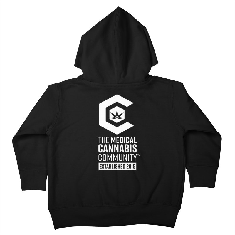 The Medical Cannabis Community Kids Toddler Zip-Up Hoody by The Medical Cannabis Community