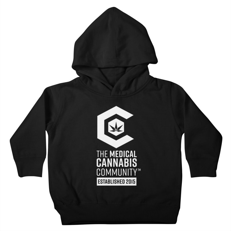 The Medical Cannabis Community Kids Toddler Pullover Hoody by The Medical Cannabis Community