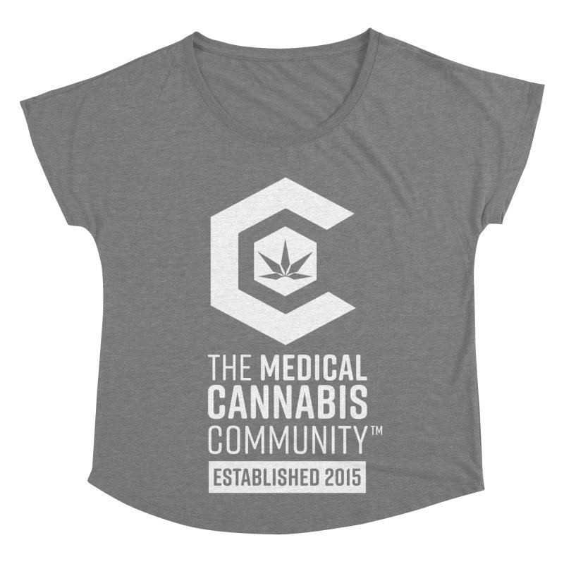 The Medical Cannabis Community Women's Scoop Neck by The Medical Cannabis Community