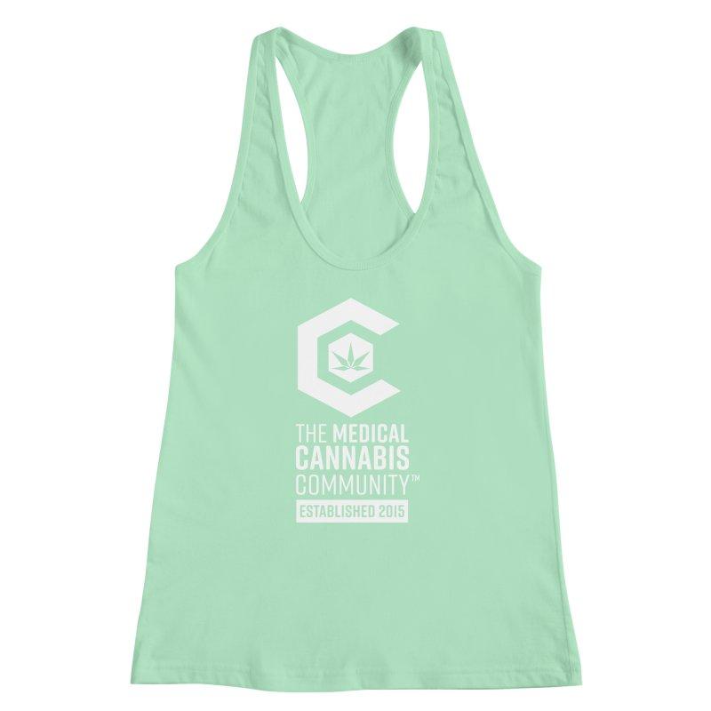 The Medical Cannabis Community Women's Racerback Tank by The Medical Cannabis Community