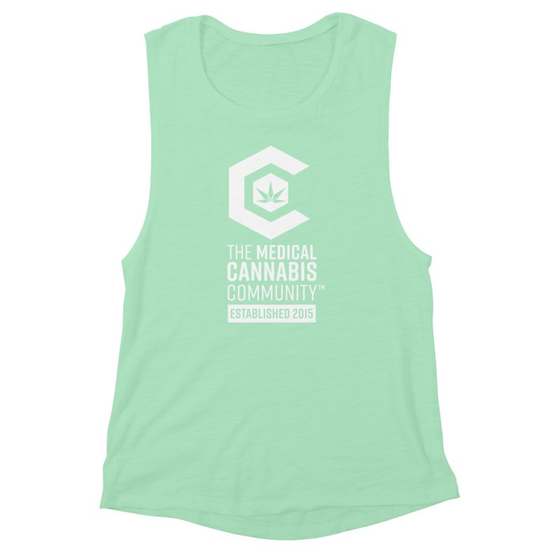 The Medical Cannabis Community Women's Muscle Tank by The Medical Cannabis Community