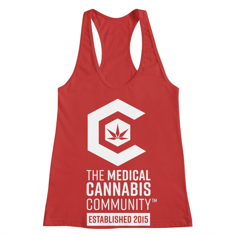 The Medical Cannabis Community Women's Racerback Tank by The Medical Cannabis Community