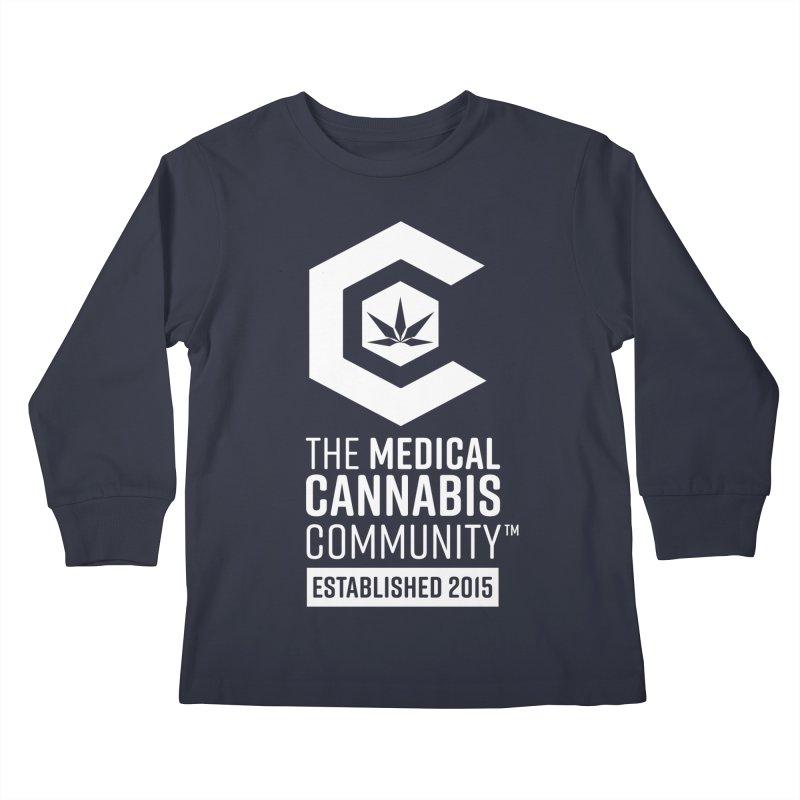 The Medical Cannabis Community Kids Longsleeve T-Shirt by The Medical Cannabis Community