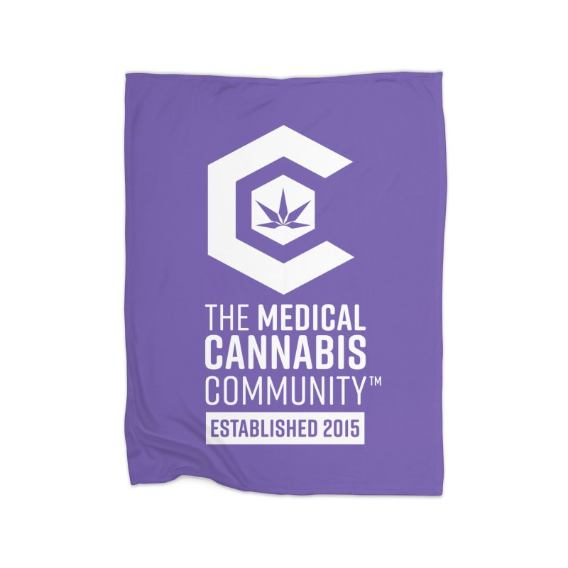 The Medical Cannabis Community Home Fleece Blanket Blanket by The Medical Cannabis Community