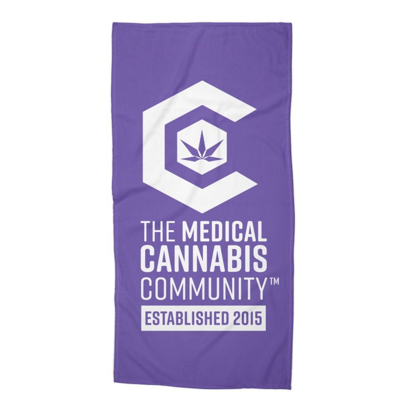 The Medical Cannabis Community Accessories Beach Towel by The Medical Cannabis Community