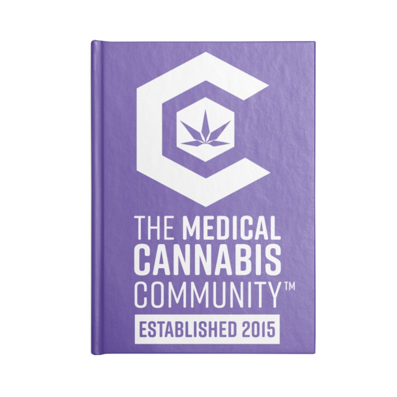 The Medical Cannabis Community Accessories Lined Journal Notebook by The Medical Cannabis Community