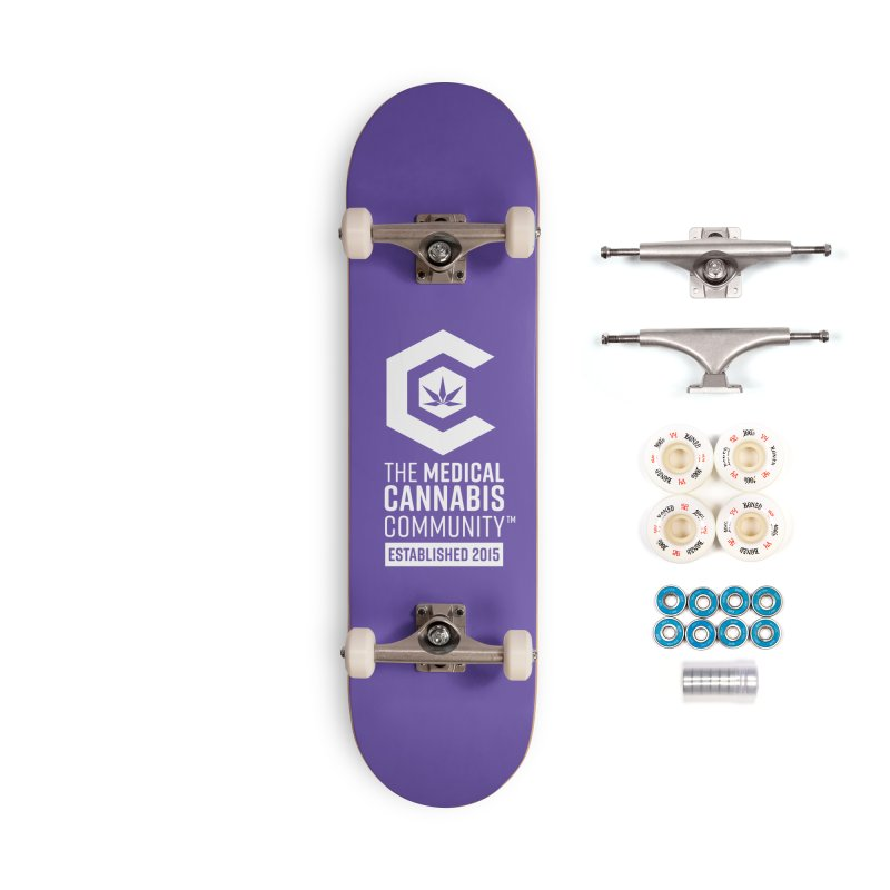 The Medical Cannabis Community Accessories Complete - Premium Skateboard by The Medical Cannabis Community