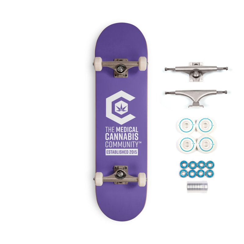 The Medical Cannabis Community Accessories Complete - Basic Skateboard by The Medical Cannabis Community