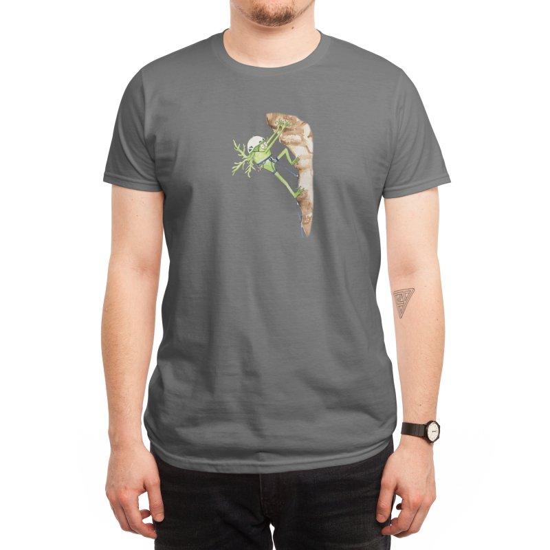 Rock Climbing Neuron Men's T-Shirt by The Neuron Family