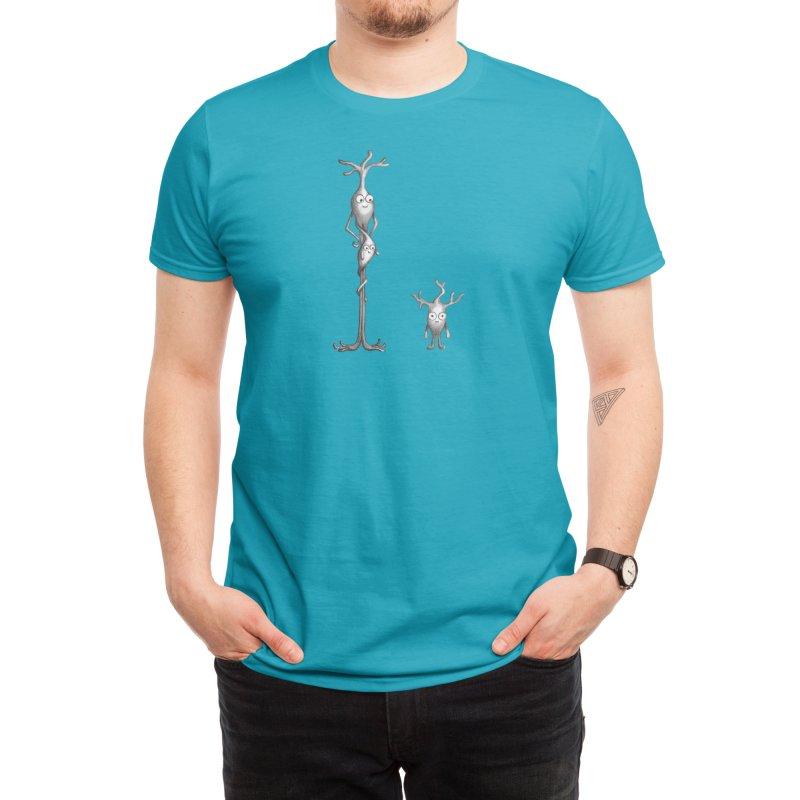 Development Neurons Men's T-Shirt by The Neuron Family