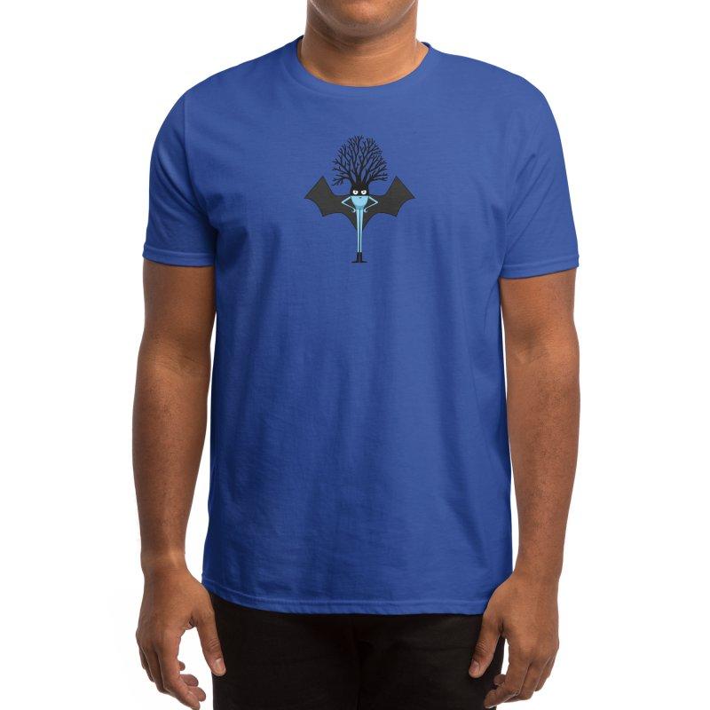 Bat Neuron Men's T-Shirt by The Neuron Family
