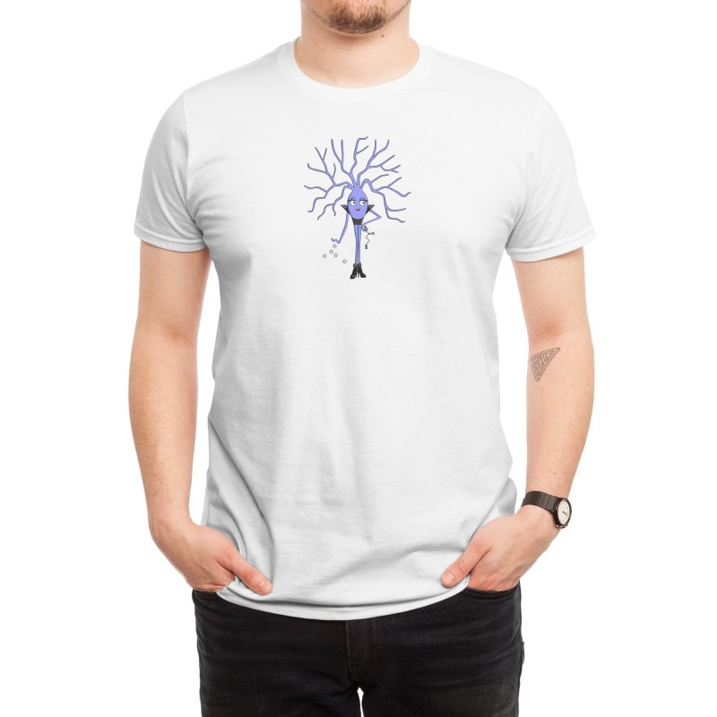 Lady GABA Men's T-Shirt by The Neuron Family