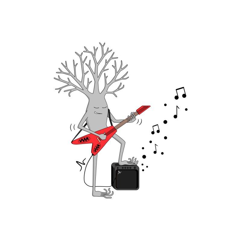 Electric Guitar Neuron Men's T-Shirt by The Neuron Family