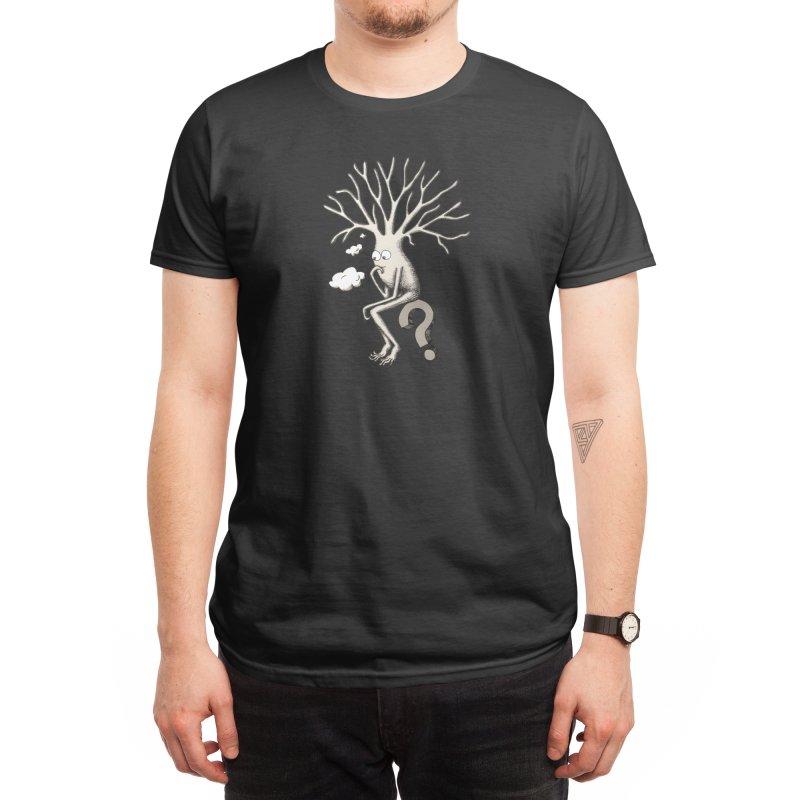 Thinking Neuron Men's T-Shirt by The Neuron Family