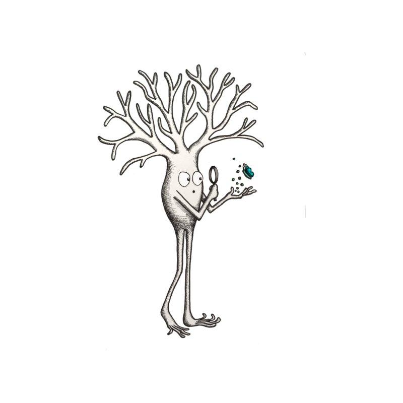 Curious Neuron pen Men's T-Shirt by The Neuron Family