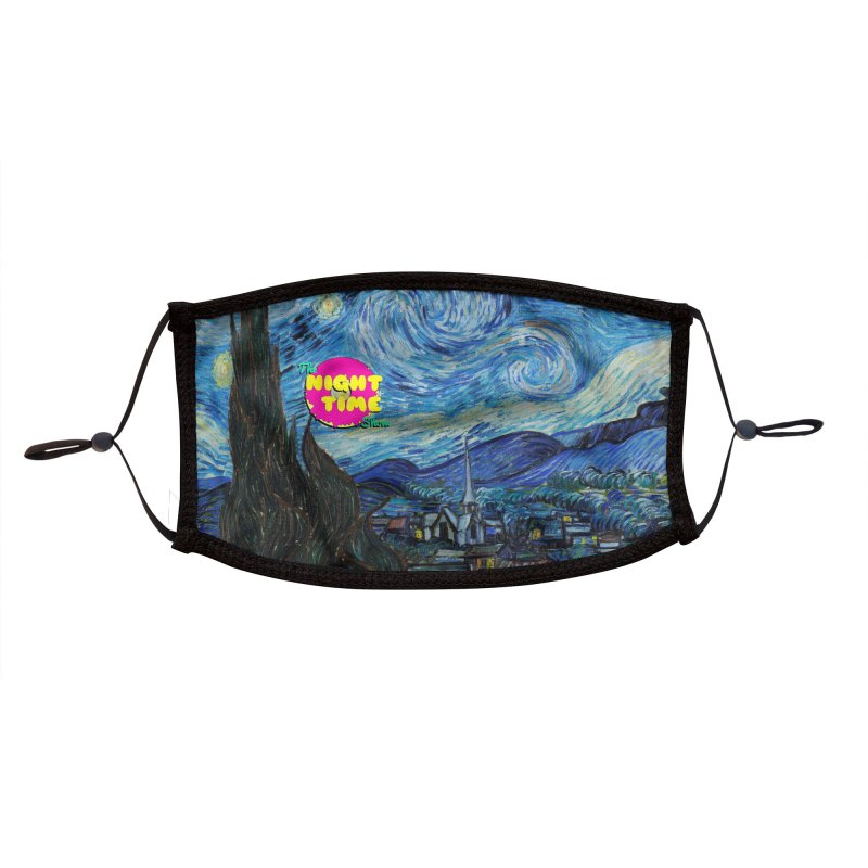 Starry Night Time Show Accessories Face Mask by The Night Time Show Shop
