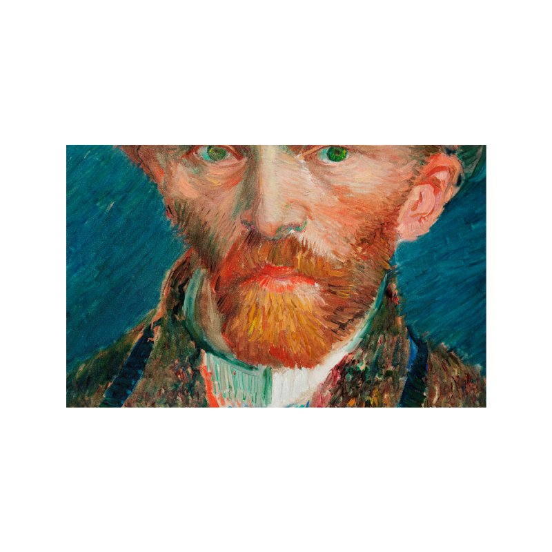 Van Gogh Listen to the Show Accessories Face Mask by The Night Time Show Shop