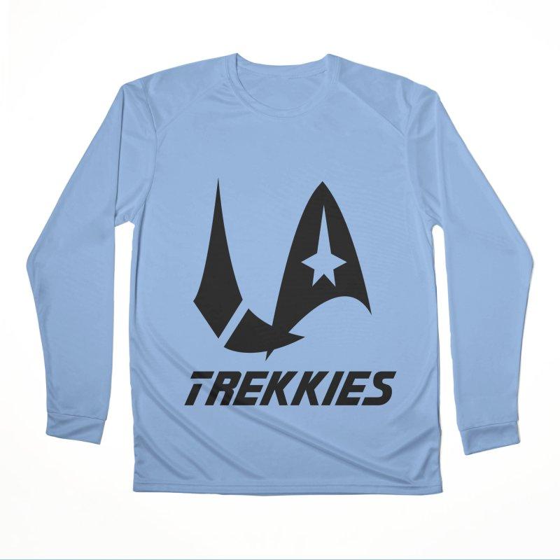 LA Trekkies (Black) Men's Longsleeve T-Shirt by The Night Time Show Shop