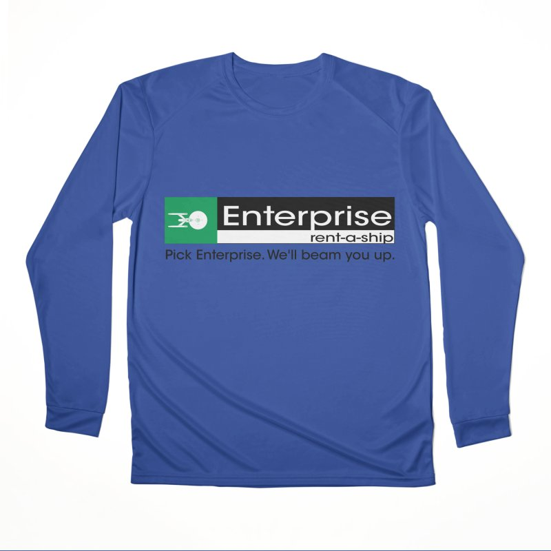 Enterprise Rent-a-Ship Men's Longsleeve T-Shirt by The Night Time Show Shop
