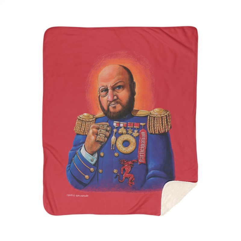 The Captain of the Rusher Army Home Blanket by The Night Time Show Shop