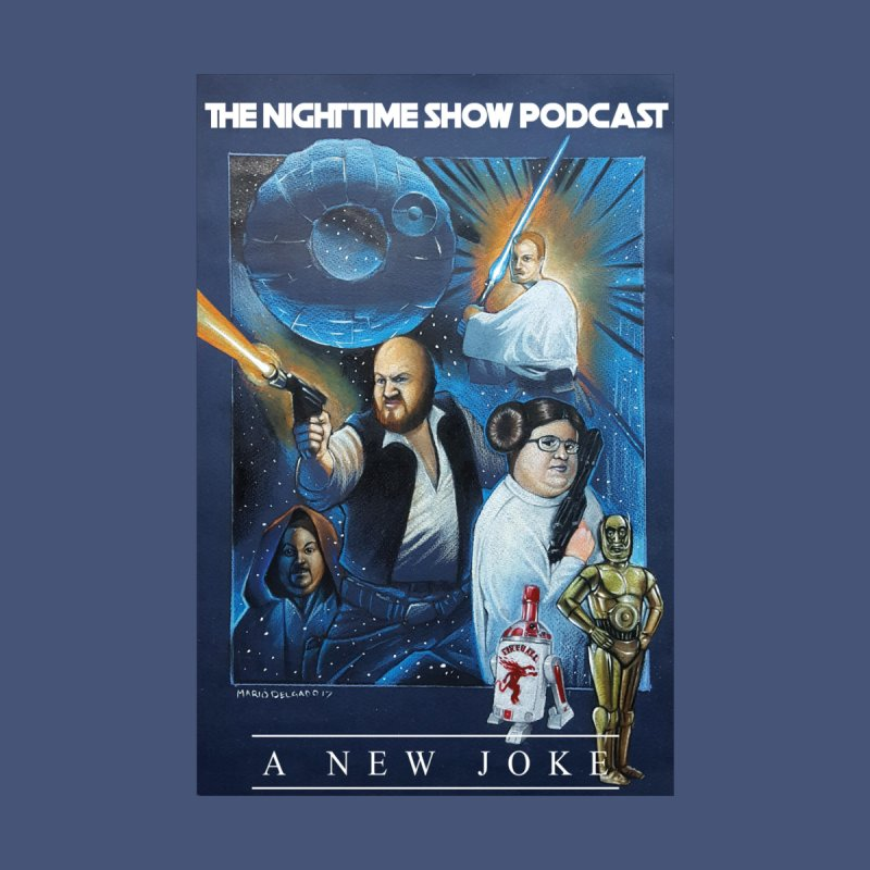 The Night Time Show Strikes Back Men's V-Neck by The Night Time Show Shop