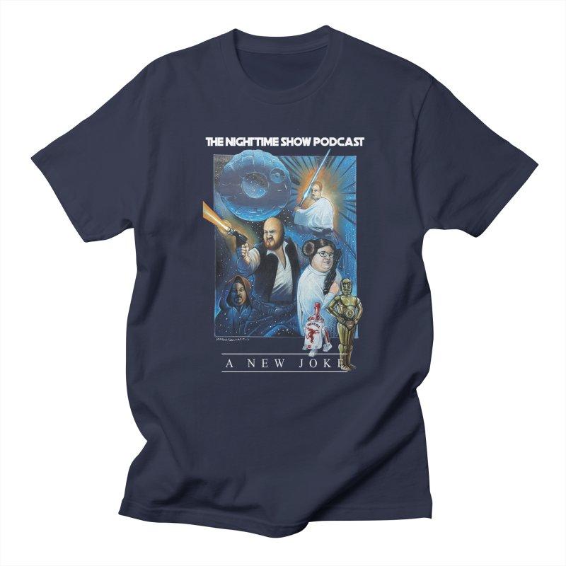 The Night Time Show Strikes Back Men's Regular T-Shirt by The Night Time Show Shop