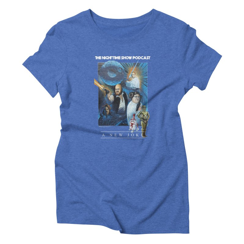 The Night Time Show Strikes Back Women's T-Shirt by The Night Time Show Shop