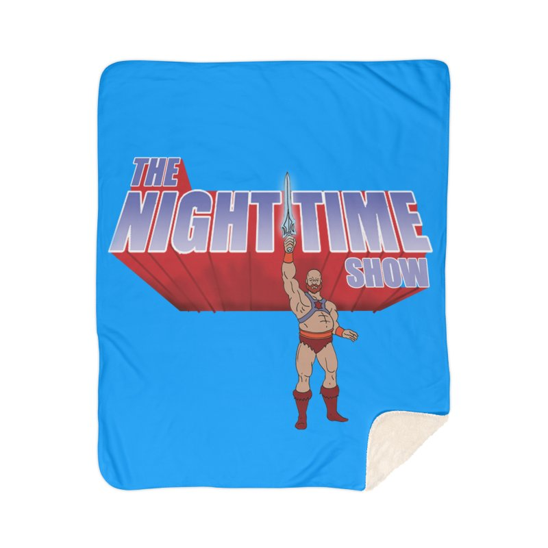 The Night Time Show and the Baddasses of the Universe! Home Blanket by The Night Time Show Shop