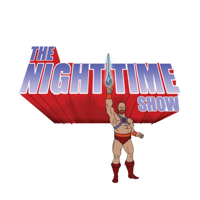 The Night Time Show and the Baddasses of the Universe! Men's V-Neck by The Night Time Show Shop