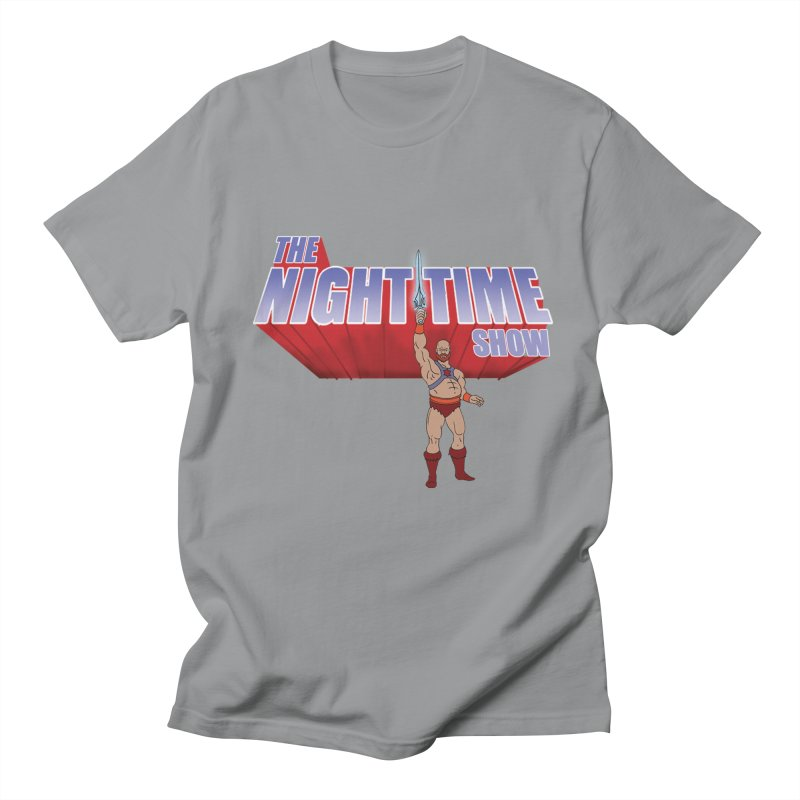 The Night Time Show and the Baddasses of the Universe! Men's Regular T-Shirt by The Night Time Show Shop