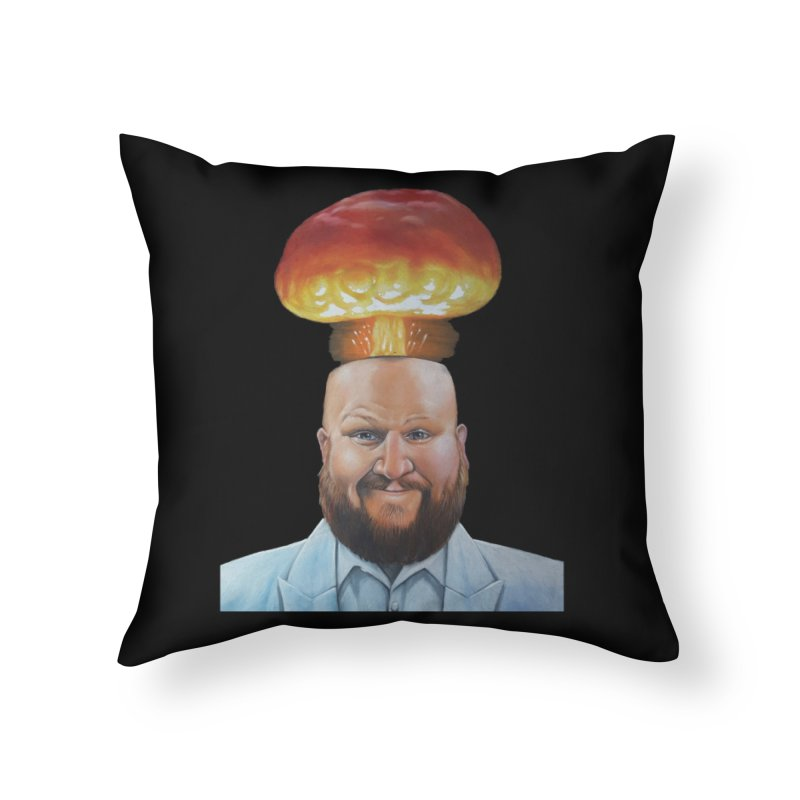 MIND BLOWN! Home Throw Pillow by The Night Time Show Shop
