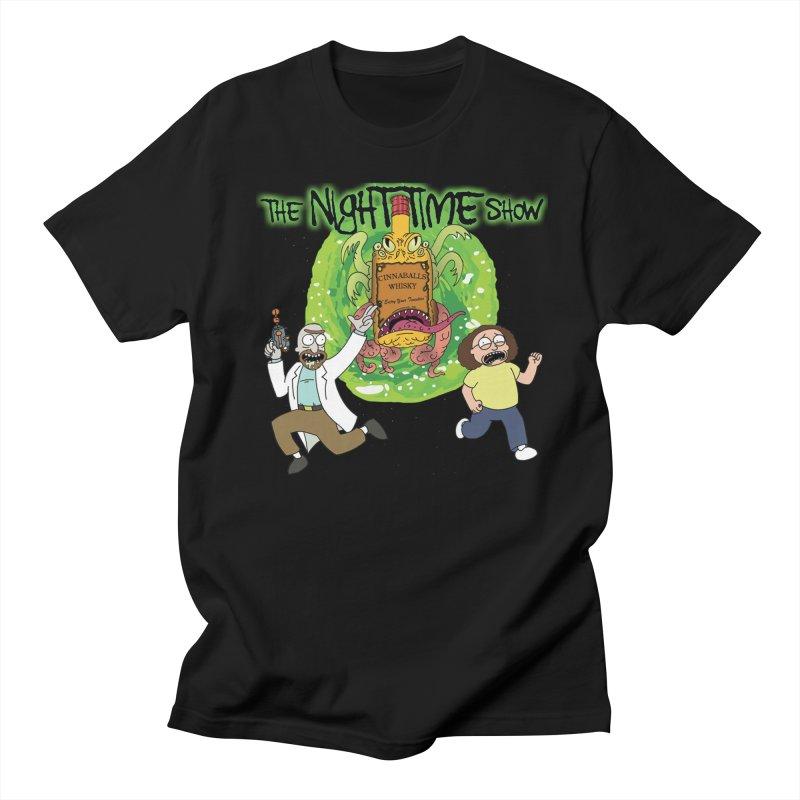Portal Jumping Bastards! Men's Regular T-Shirt by The Night Time Show Shop
