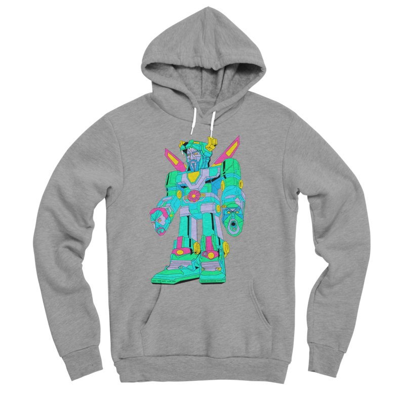 Voltron Glickman Women's Sponge Fleece Pullover Hoody by The Night Time Show Shop