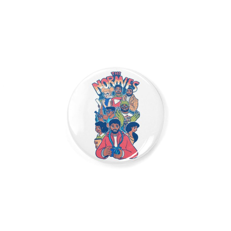 The Normies Crew Accessories Button by The Normie's Merch Shop