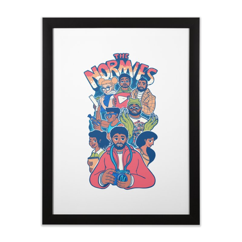 The Normies Crew Home Framed Fine Art Print by The Normie's Merch Shop