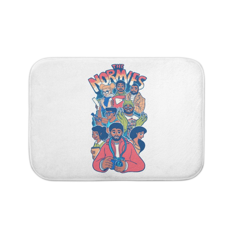 The Normies Crew Home Bath Mat by The Normie's Merch Shop