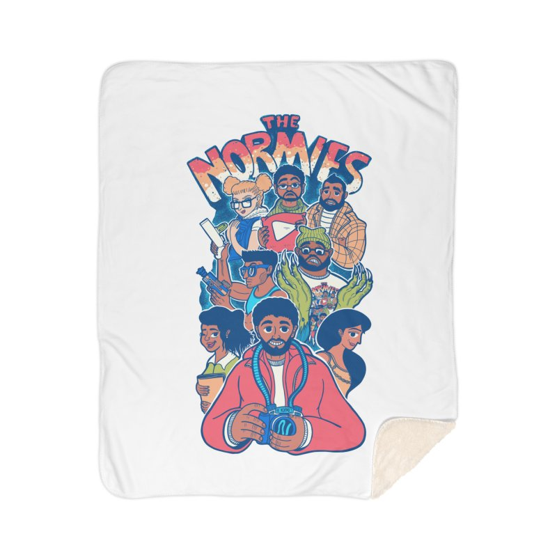 The Normies Crew Home Blanket by The Normie's Merch Shop