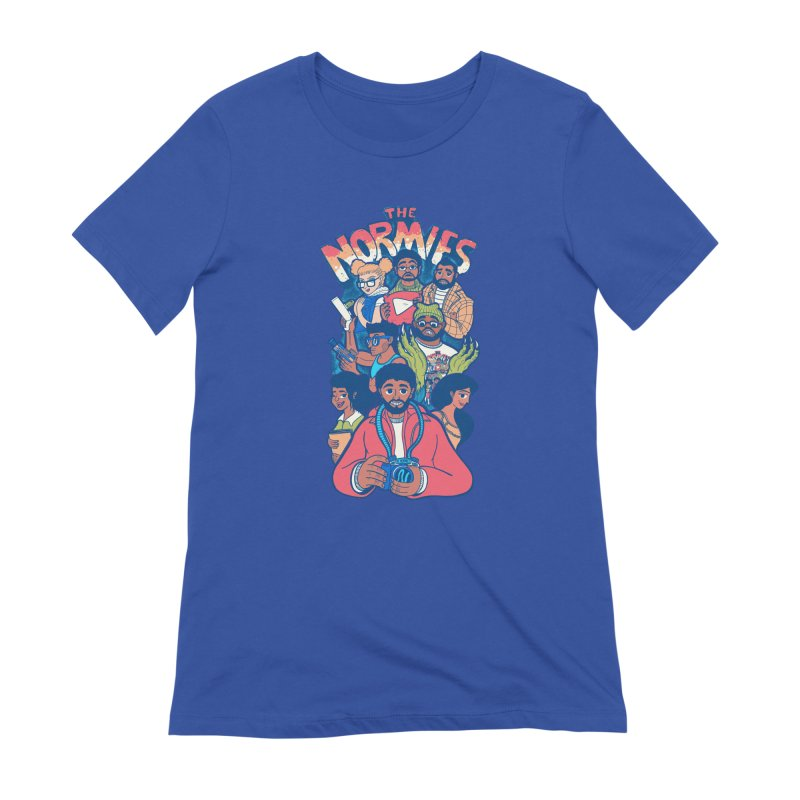 The Normies Crew Women's T-Shirt by The Normie's Merch Shop