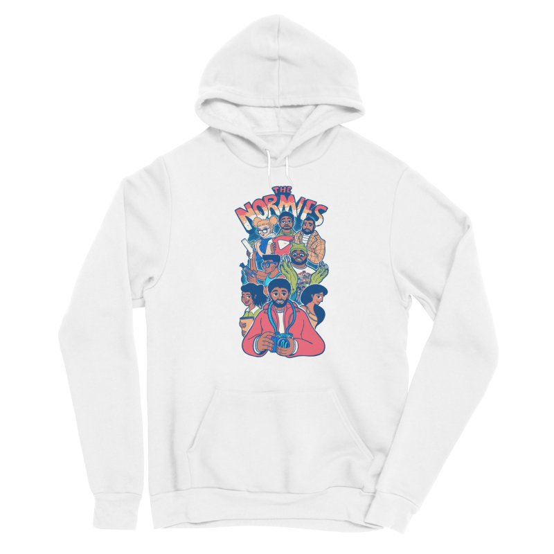 The Normies Crew Men's Pullover Hoody by The Normie's Merch Shop