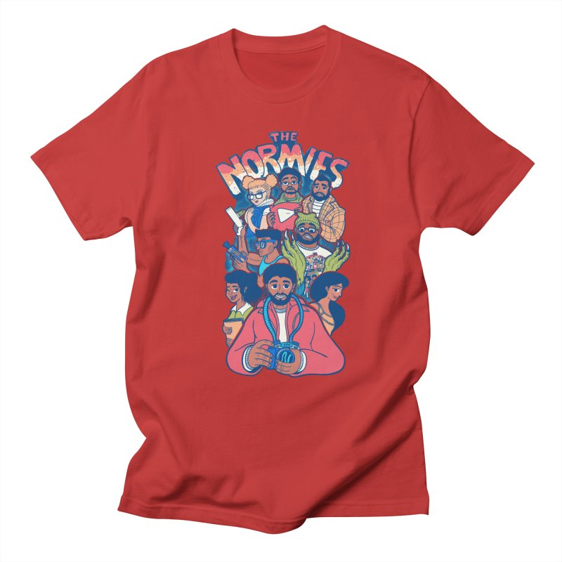 The Normies Crew Men's T-Shirt by The Normie's Merch Shop