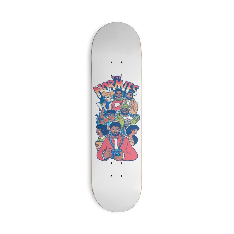 The Normies Crew Accessories Skateboard by The Normie's Merch Shop