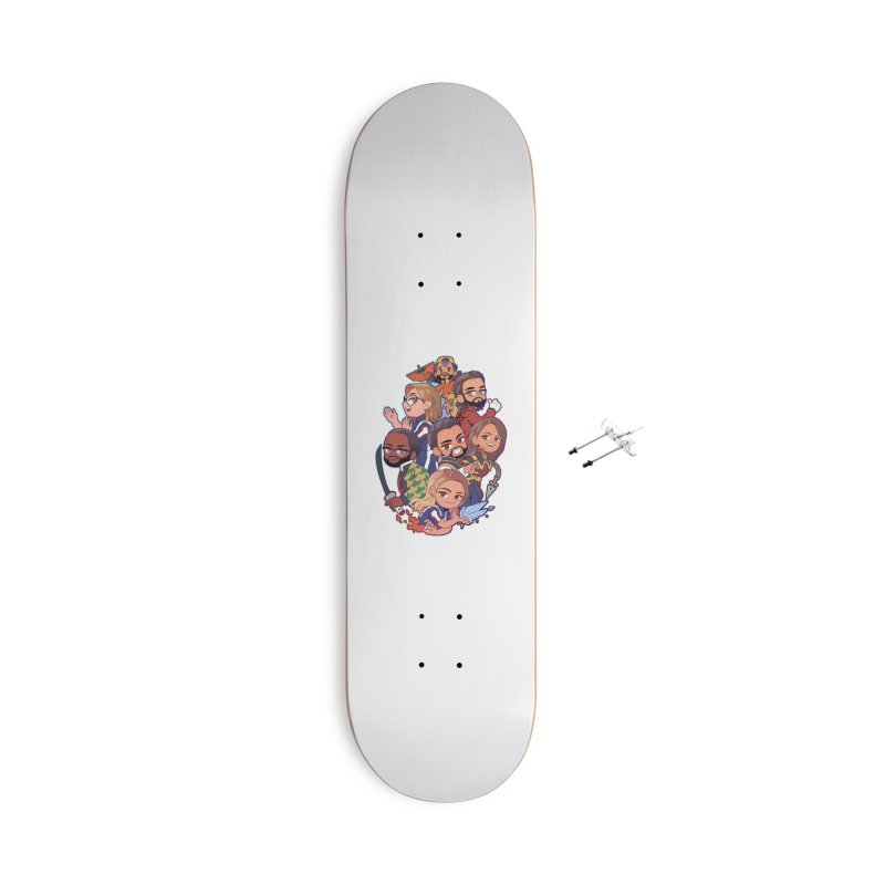 The Normies Fan Art Shirt Accessories Skateboard by The Normie's Merch Shop