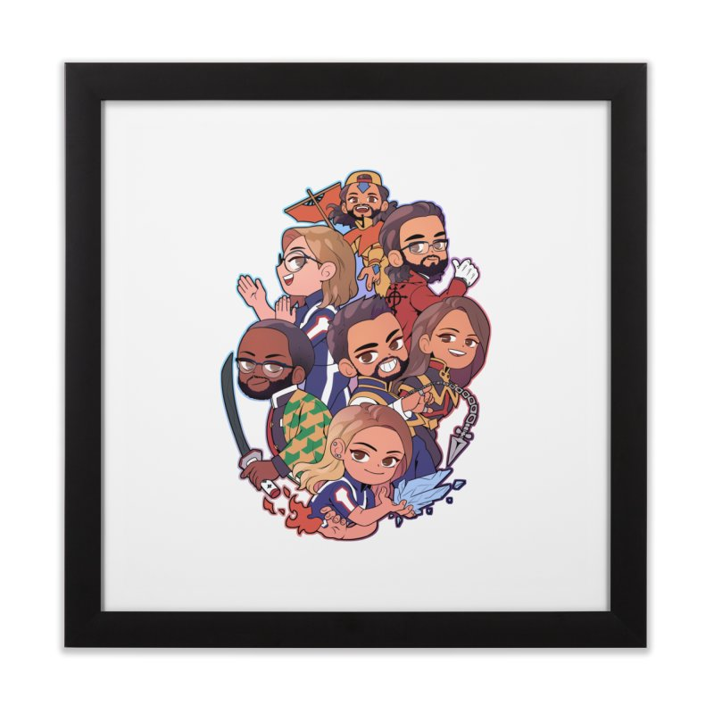 The Normies Fan Art Shirt Home Framed Fine Art Print by The Normie's Merch Shop