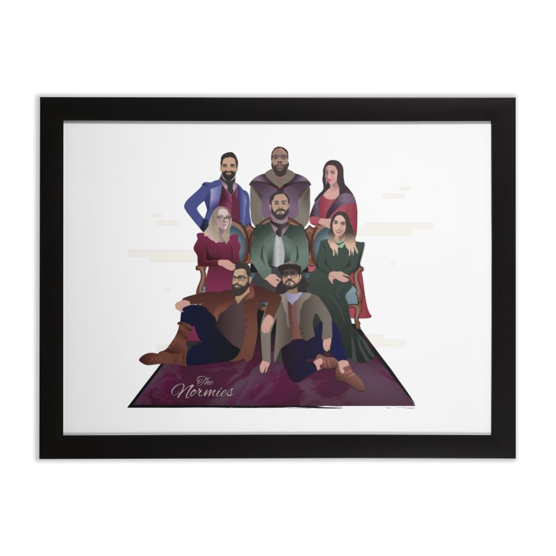 The Normies Renaissance Home Framed Fine Art Print by The Normie's Merch Shop