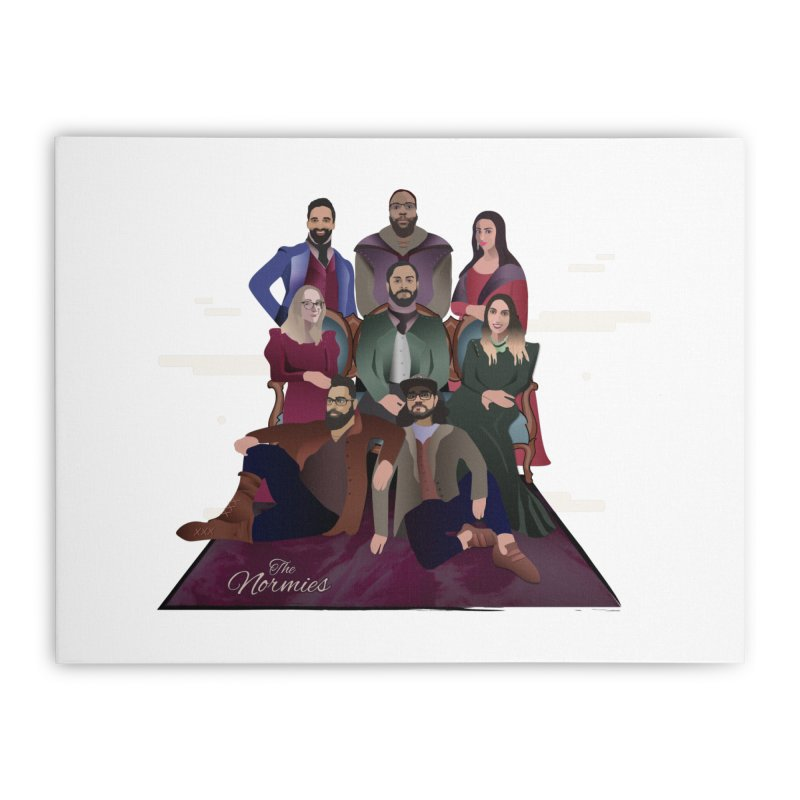 The Normies Renaissance Home Stretched Canvas by The Normie's Merch Shop