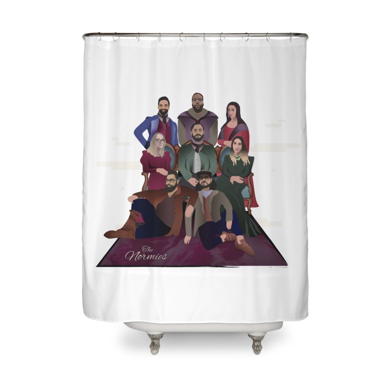 The Normies Renaissance Home Shower Curtain by The Normie's Merch Shop