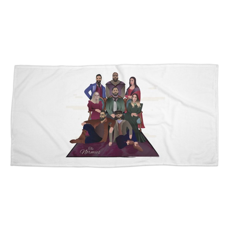 The Normies Renaissance Accessories Beach Towel by The Normie's Merch Shop